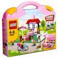 LEGO kocky - Ružový kufrík