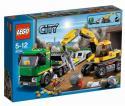 LEGO City - Preprava rýpadlá