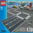 LEGO City - Rovná cesta a križovatka