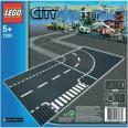 LEGO City - Križovatka v tvare T a zákruty
