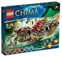 LEGO CHIMA - Craggerov krokodílí čln