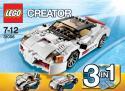 LEGO Creator - Diaľničné pretekárske autíčko