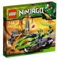 LEGO Ninjago - Lasha a motorka s hryzadlami